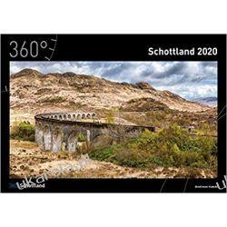 Kalendarz Szkocja 360 Scotland Calendar 2020