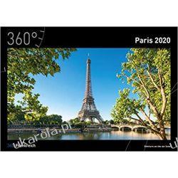 Kalendarz 360 Paryż France - Paris Calendar 2020  Biografie, wspomnienia