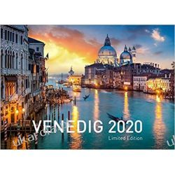 Kalendarz Wenecja 2020 Venice Calendar Kalendarze ścienne