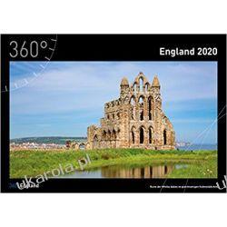 Kalendarz Anglia 360° England 2020 Calendar