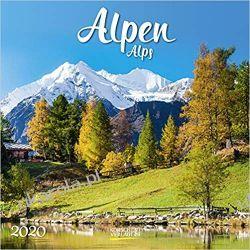 Kalendarz Alpy Mountains Alps 2020 Calendar