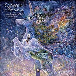 Kalendarz Celestial Journeys by Josephine Wall Wall Calendar 2020 Pozostałe