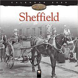 Kalendarz Sheffield Heritage Wall Calendar 2020
