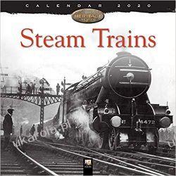 Kalendarz Steam Trains Heritage Wall Calendar 2020