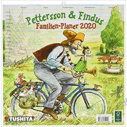 Kalendarz Pettersson & Findus 2020 Media Illustration Calendar
