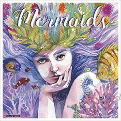 Kalendarz Syreny Mermaids 2020 Calendar