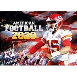 Kalendarz American Football 2020 NFL Calendar