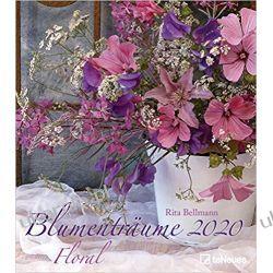 Kalendarz Flowers dream 2020 Kwiaty Bukiety Calendar Gadżety i akcesoria