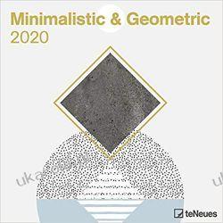 Kalendarz Minimalistic & Geometric 2020 Square Wall Calendar Gadżety i akcesoria