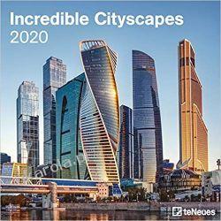Kalendarz Incredible Cityscapes 2020 Square Wall Calendar Gadżety i akcesoria