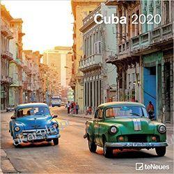 Kalendarz Cuba 2020 Square Wall Calendar Gadżety i akcesoria