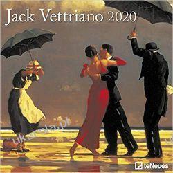Kalendarz Art Calendar - Jack Vettriano 2020 Square Wall Calendar Gadżety i akcesoria