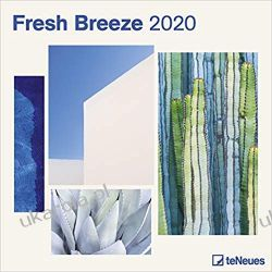 Kalendarz Fresh Breeze 2020 Square Wall Calendar Gadżety i akcesoria