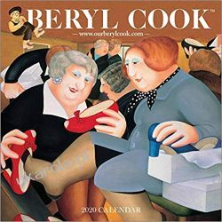 Kalendarz Beryl Cook Square Wall Calendar 2020
