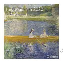 Kalendarz Impresjonizm Art Calendar - Impressionism Masterpieces 2020 Kalendarze ścienne