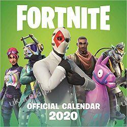 Kalendarz FORTNITE Official 2020 Calendar Książki i Komiksy