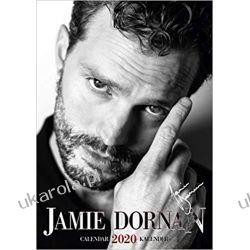 Kalendarz Jamie Dornan 2020 50 Shades od Grey Calendar Kalendarze ścienne