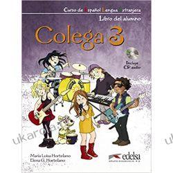 Colega: Libro del alumno + CD+ Cuaderno de ejercicios  Książki do nauki języka obcego
