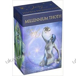 Millenium Thoth Tarot: 78 Full Colour Tarot Cards and Instruction Booklet Pozostałe