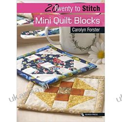 20 to Stitch: Mini Quilt Blocks (Twenty to Make) Kalendarze ścienne