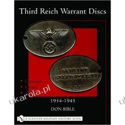 Third Reich Warrant Discs: 1934-1945 Po angielsku
