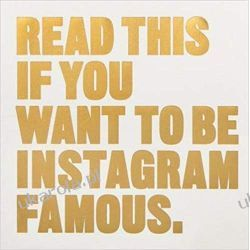 Read This if You Want to Be Instagram Famous: 50 Secrets by 50 of the Best Pozostałe