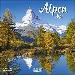 Kalendarz Alpy Alps 2021 Calendar Marynarka Wojenna