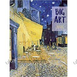 Kalendarz Big ART 2021 Calendar Pozostałe