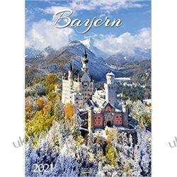 Kalendarz Bawaria Bayern 2021 Bavaria Calendar Książki i Komiksy