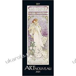 Kalendarz Art Nouveau 2021 Calendar Książki i Komiksy