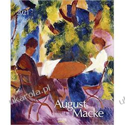 Kalendarz August Macke 2021 Calendar Książki i Komiksy
