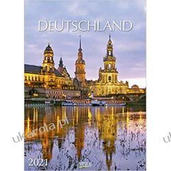 Kalendarz Niemcy Deutschland 2021 Germany Calendar Książki i Komiksy