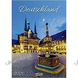 Kalendarz Niemcy Deutschland 2021 Calendar Książki i Komiksy