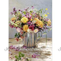 Kalendarz Bukiety kwiatów Bouquets of flowers 2021 Calendar Książki i Komiksy