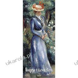 Kalendarz Impresjoniści Impressionists 2021 Art Calendar Książki i Komiksy