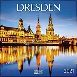 Kalendarz Drezno Niemcy Dresden 2021 Calendar Książki i Komiksy
