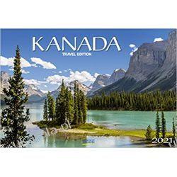 Kalendarz Kanada 2021 Canada Calendar Książki i Komiksy