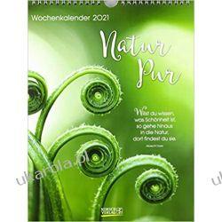 Kalendarz Przyroda Pure nature Calendar 2021 Książki i Komiksy