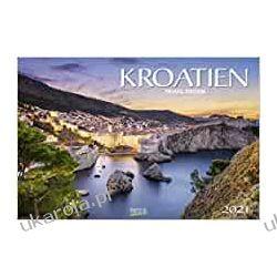 Kalendarz Chorwacja Croatia 2021 Calendar Książki i Komiksy