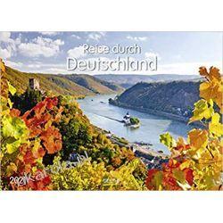 Kalendarz Niemcy Journey through Germany 2021 Calendar Książki i Komiksy