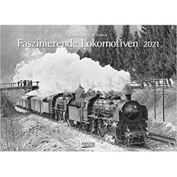 Kalendarz Lokomotywy Fascinating locomotives 2021 Calendar