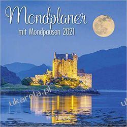 Kalendarz Księżyc The great lunar planner 2021 Moon Calendar Książki i Komiksy