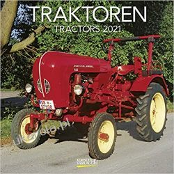 Kalendarz Ciągniki Traktory Tractors 2021 Calendar