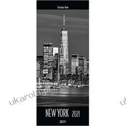 Kalendarz New York 2021 Nowy Jork Calendar