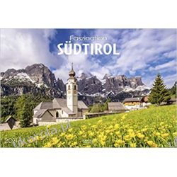 Kalendarz Południowy Tyrol Fascination South Tirol 2021 Calendar Książki i Komiksy