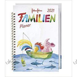 Kalendarz książkowy Planer Rodzinny ze zwierzętami 2021 Calendar