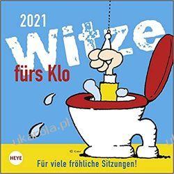 Kalendarz Żarty do toalety 2021 Jokes for the toilet Calendar Książki i Komiksy