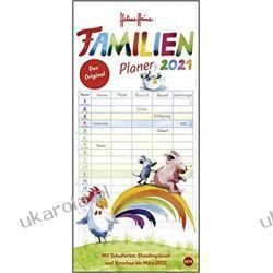 Kalendarz Familijny Planer Rodzinny ścienny 2021 Calendar
