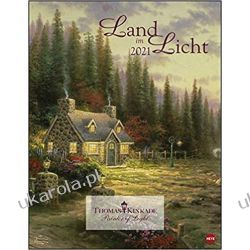 Kalendarz Thomas Kinkade Land in the Light 2021 Art Calendar Pozostałe