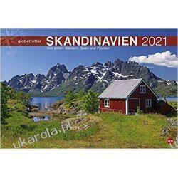 Kalendarz Podróże po Skandynawii Scandinavia globetrotter 2021 Calendar Zagraniczne
